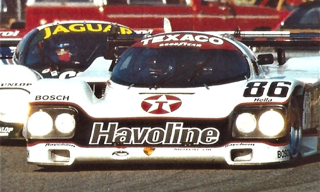 Stuck, Ludwig and Van der Merwe raced at Daytona together.