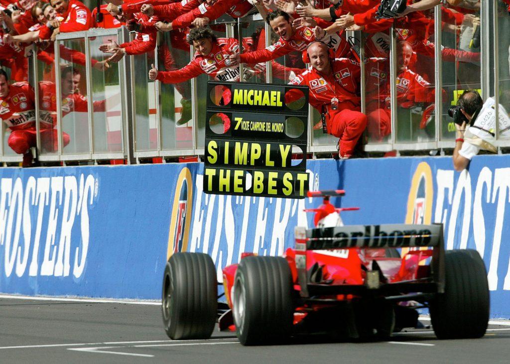 Schumacher 7 titles