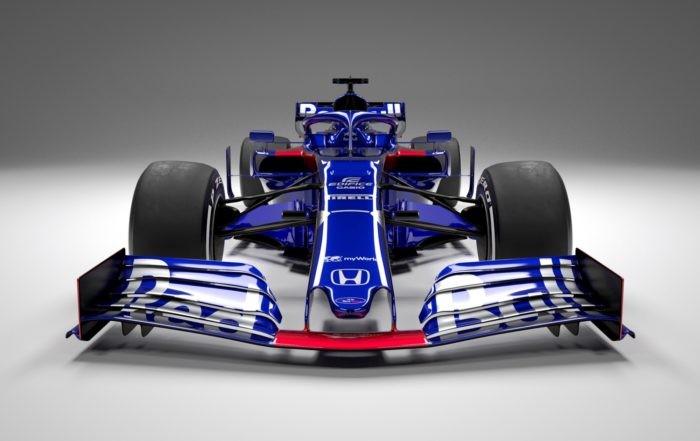 Scuderia Toro Rosso STR14 front