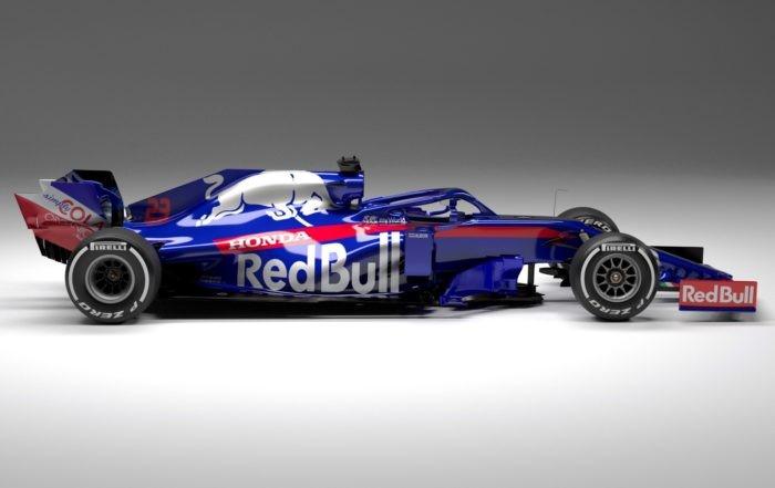 Scuderia Toro Rosso STR14 profile