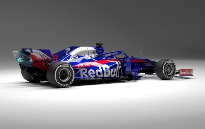 Scuderia Toro Rosso STR14 rear