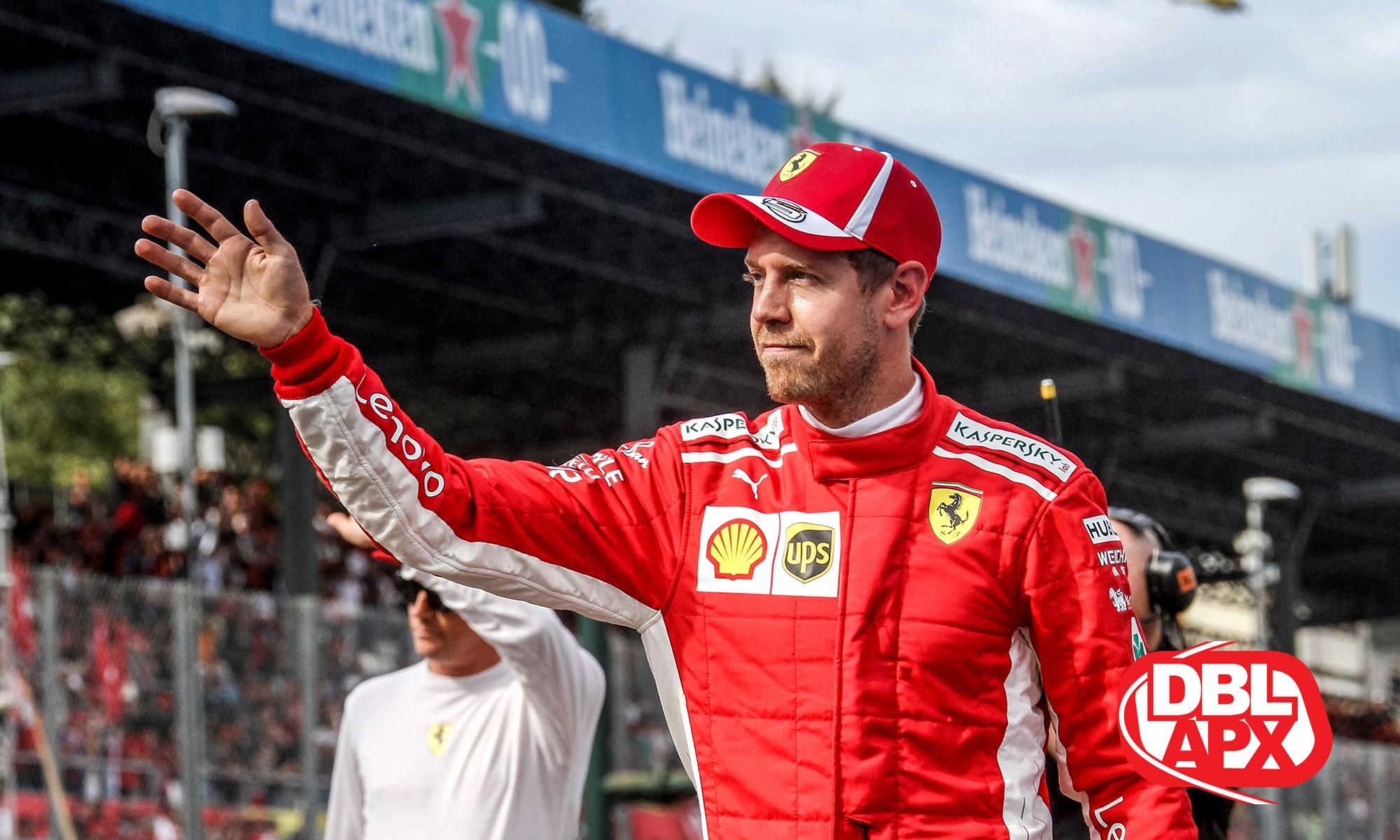 Sebastian Vettel is under pressure