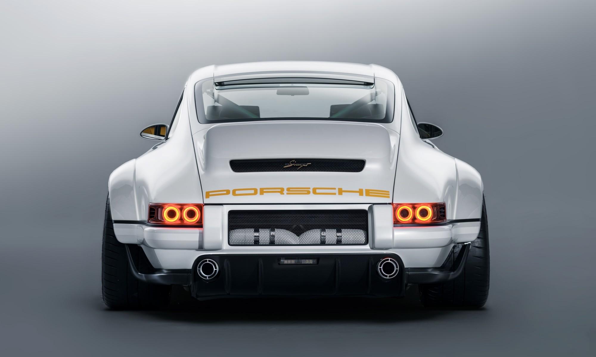 Singer Porsche DLS rear