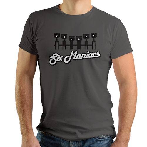 Double Apex Six Maniac car T-shirt