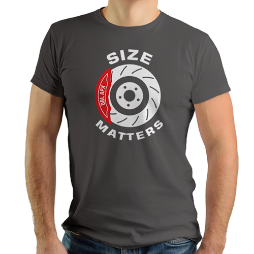 Double Apex Size Matters car T-shirt