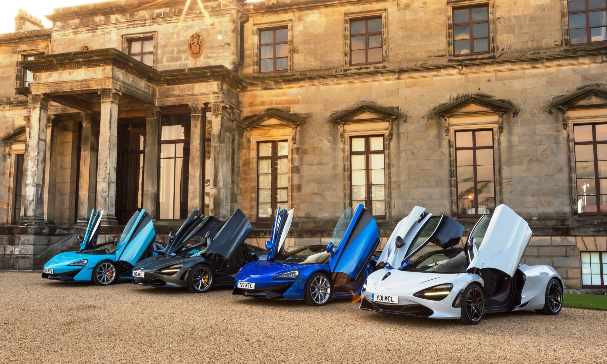 Some of the McLaren family on show