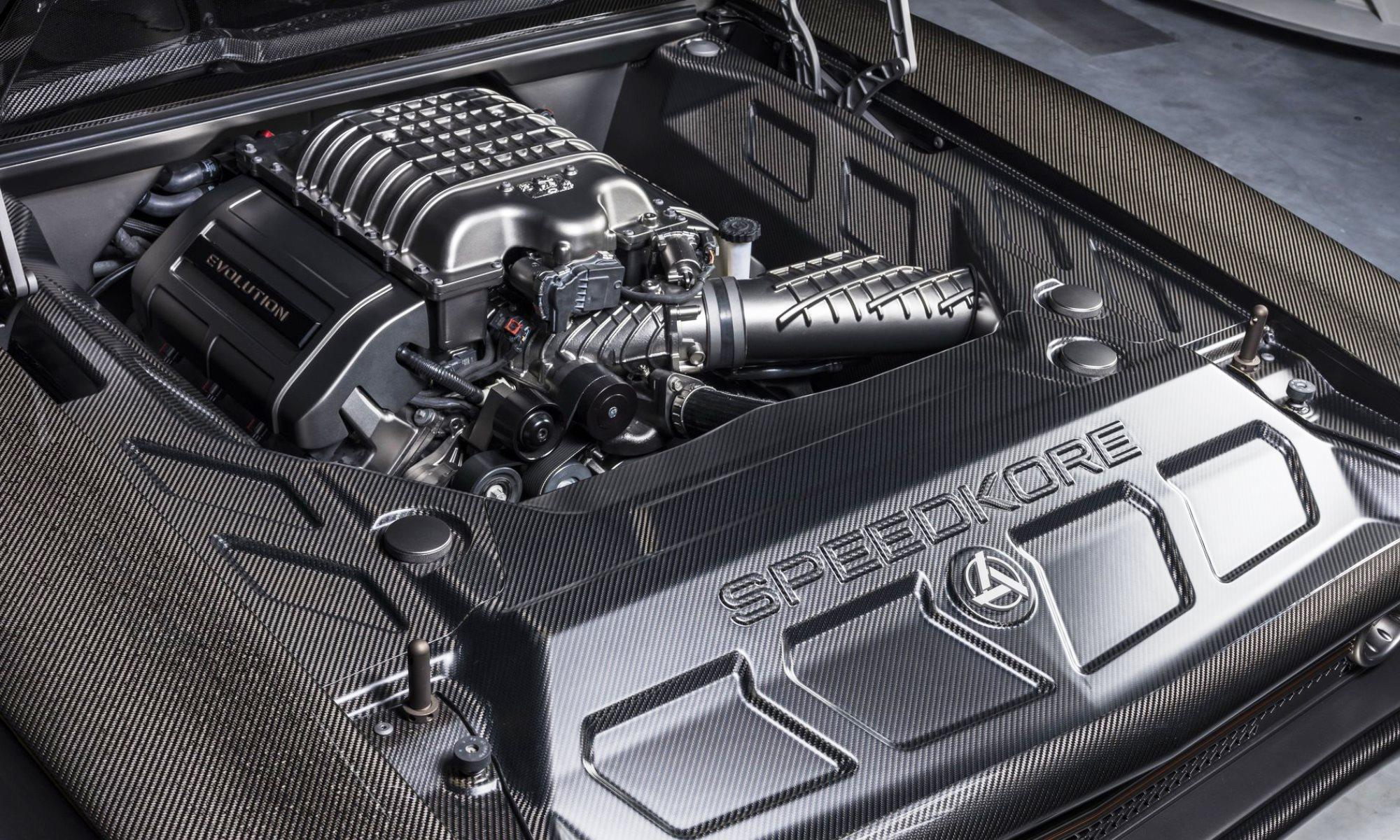 SpeedKore Dodge Charger Evolution engine