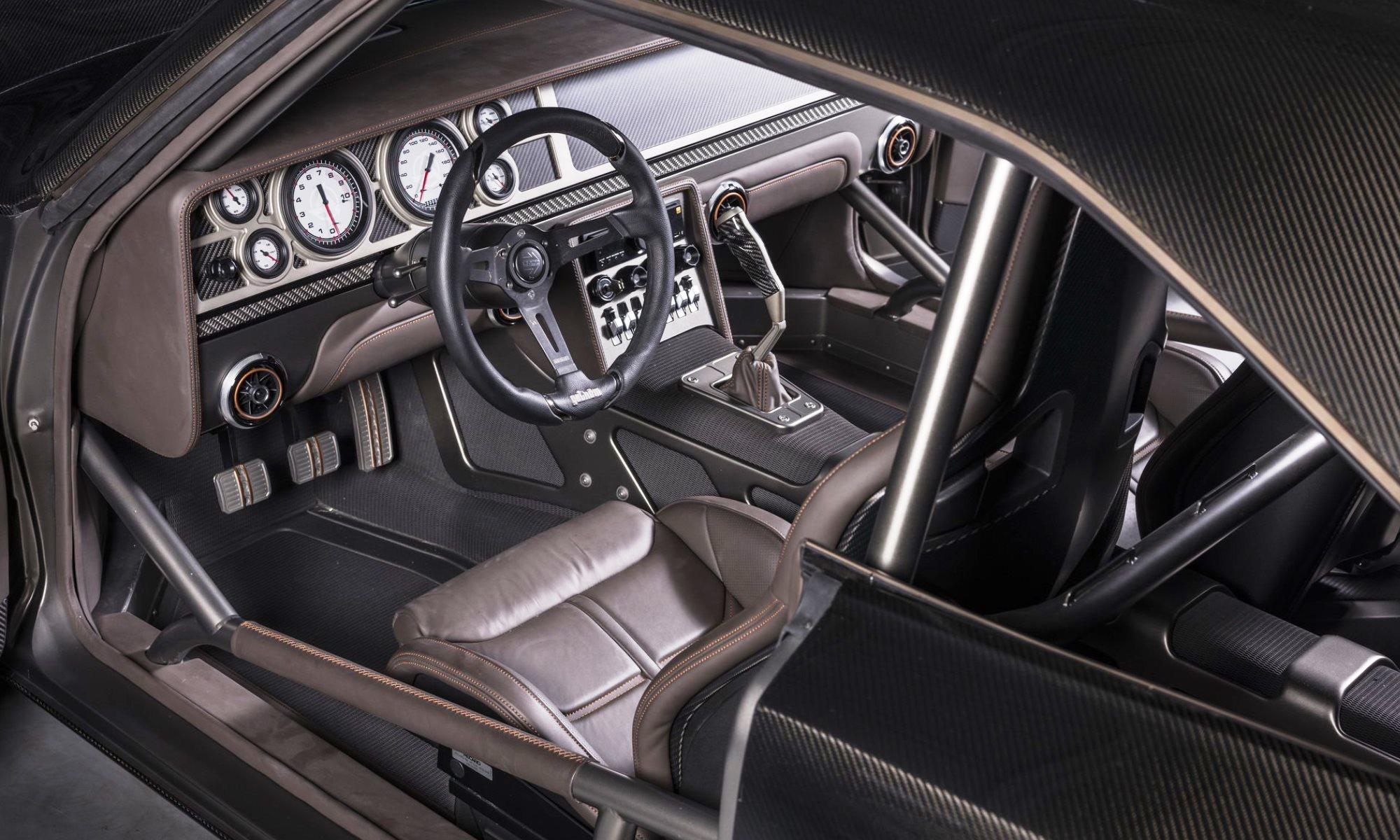 SpeedKore Dodge Charger Evolution interior