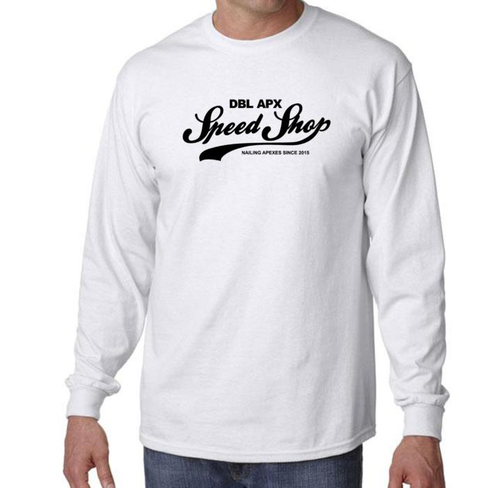 Double Apex Speed Shop long sleeve car T-shirt
