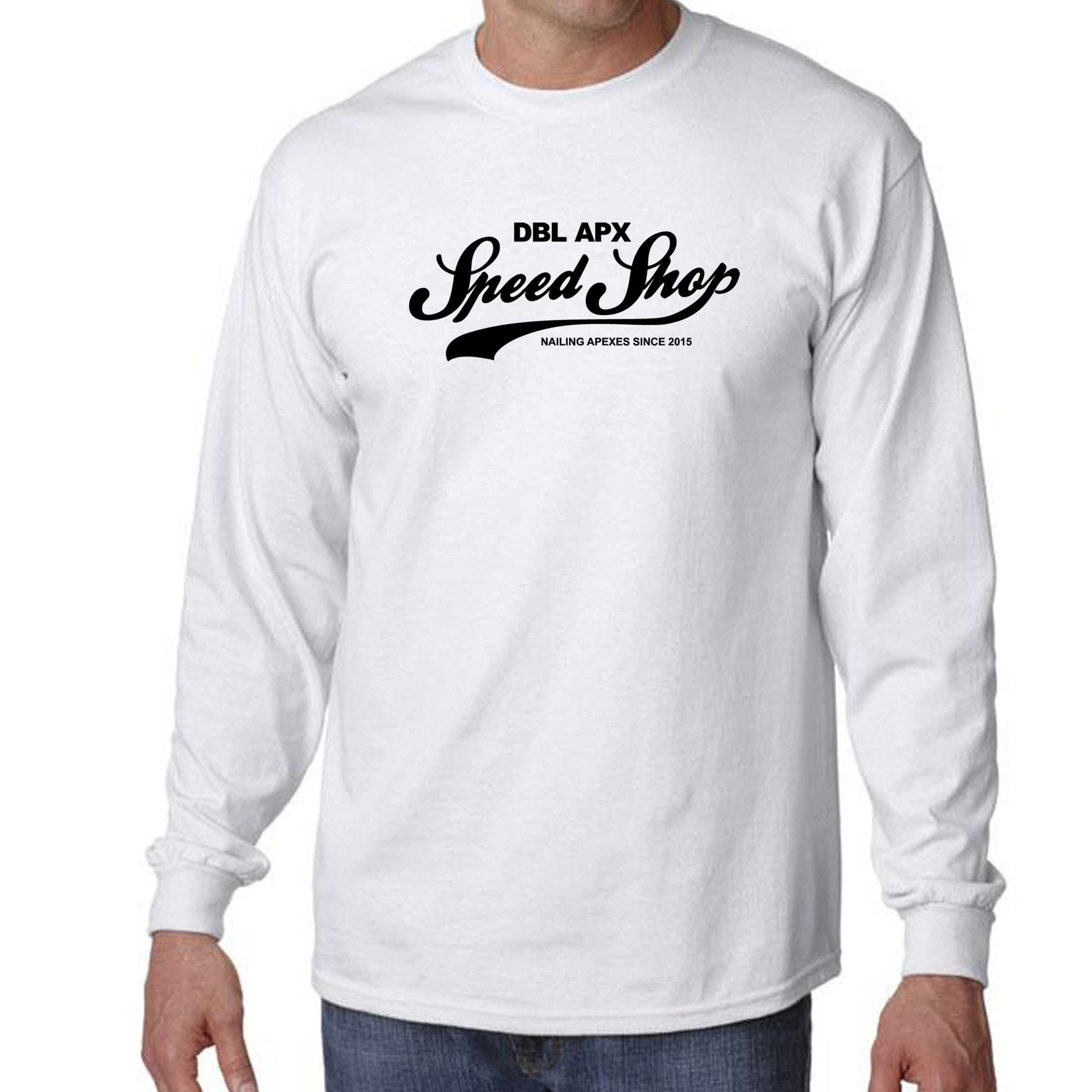 Double Apex Speed Shop long sleeve car T-shirt