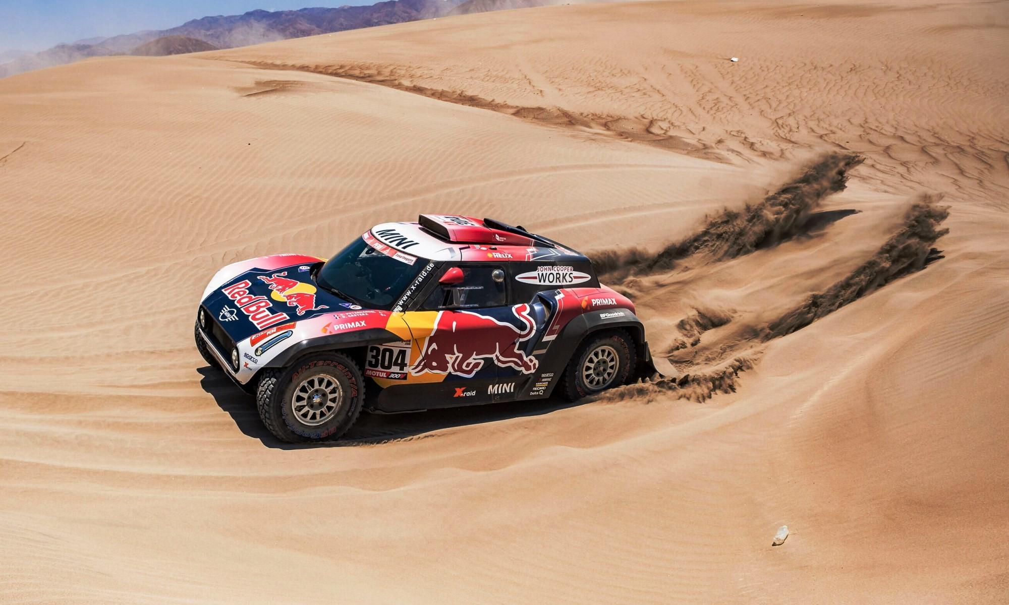 Stephane Peterhansel claimed Dakar Rally stage 7