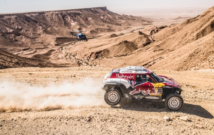 Stephane Peterhansel claimed the 2020 Dakar Stage 9 win by just 15 seconds