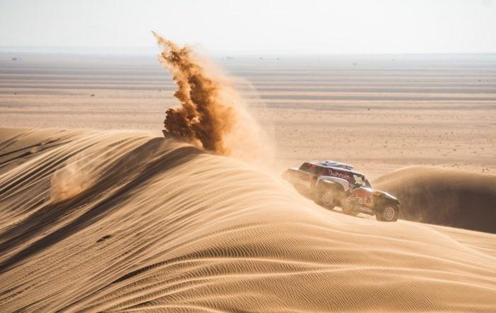 Stephane Peterhansel finished third on 2020 Dakar Stage 7