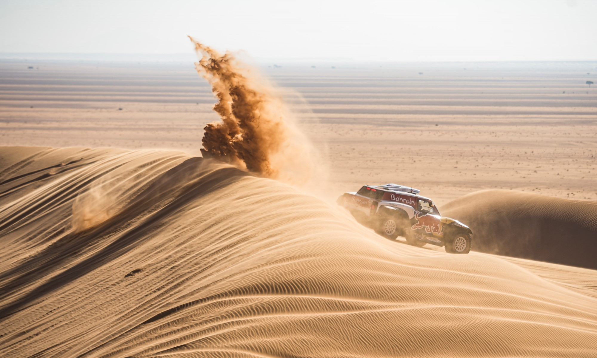 Stephane Peterhansel finished third on 2020 Dakar Stage 7