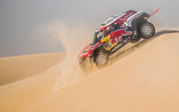 Stephane Peterhansel lost time on 2020 Dakar Stage 10