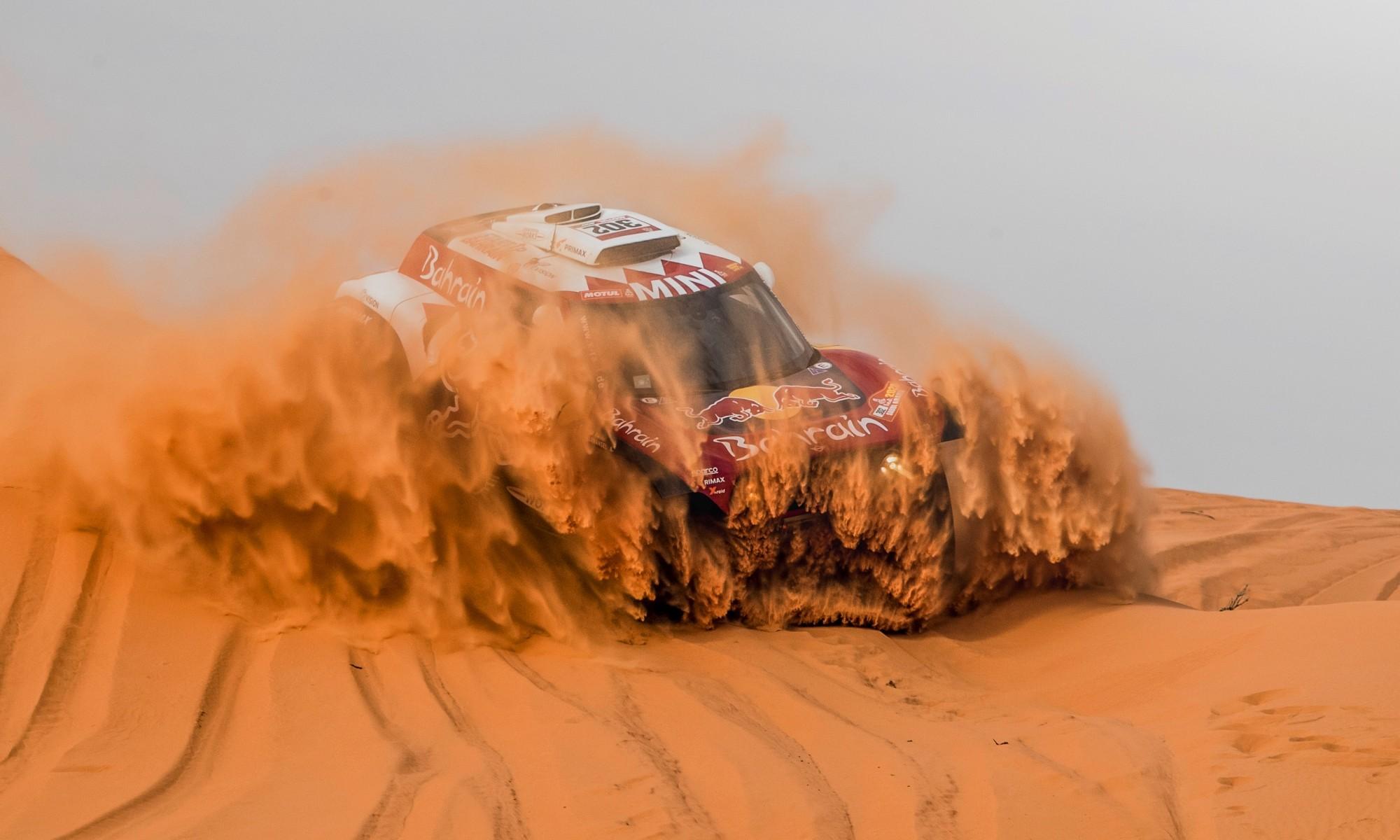 Stephane Peterhansel was quickest through 2020 Dakar Stage 6