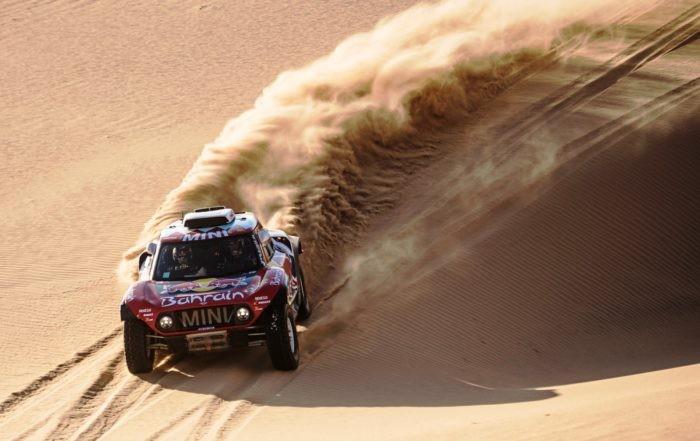 Stephane Peterhansel was third overall in the 2020 Dakar