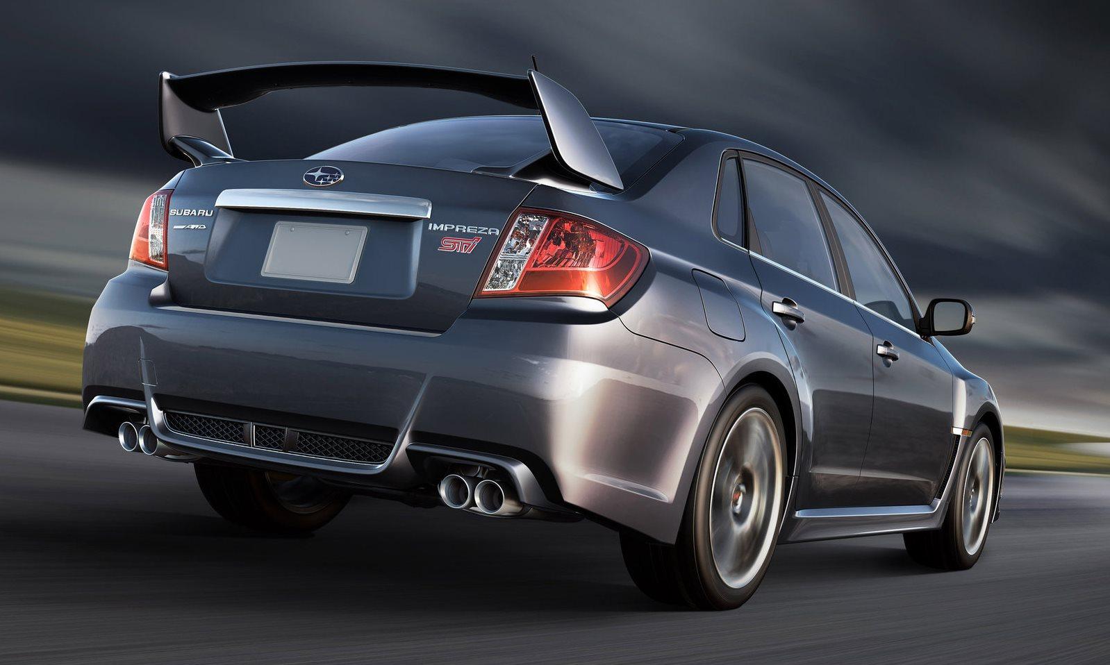 Subaru Impreza 2.5 WRX STI Sedan Sportshift