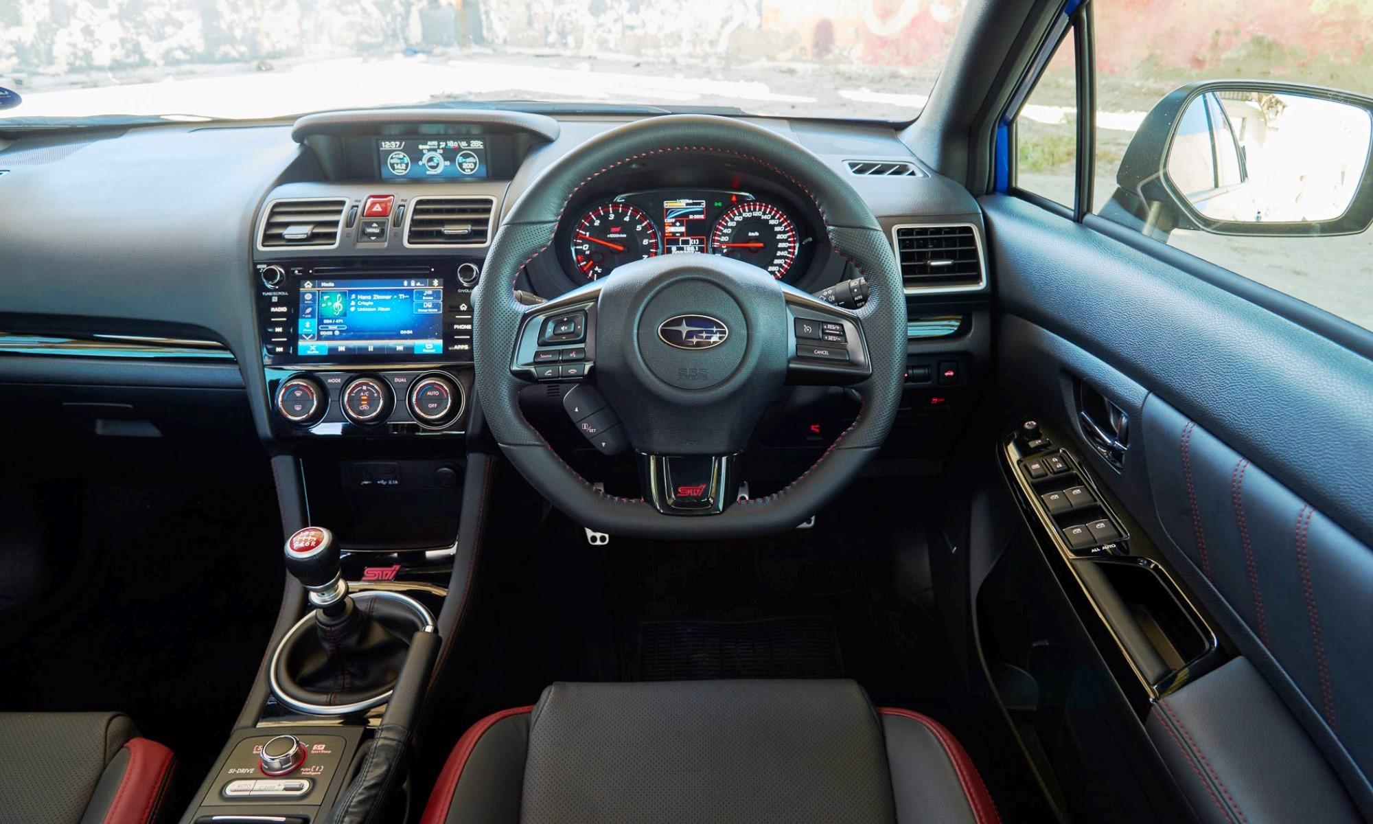 Subaru WRX STi Diamond Edition30 interior