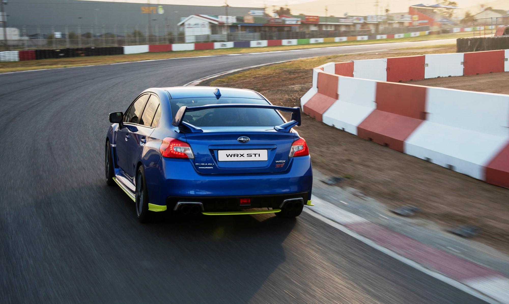 Subaru WRX STi Diamond Edition30 rear
