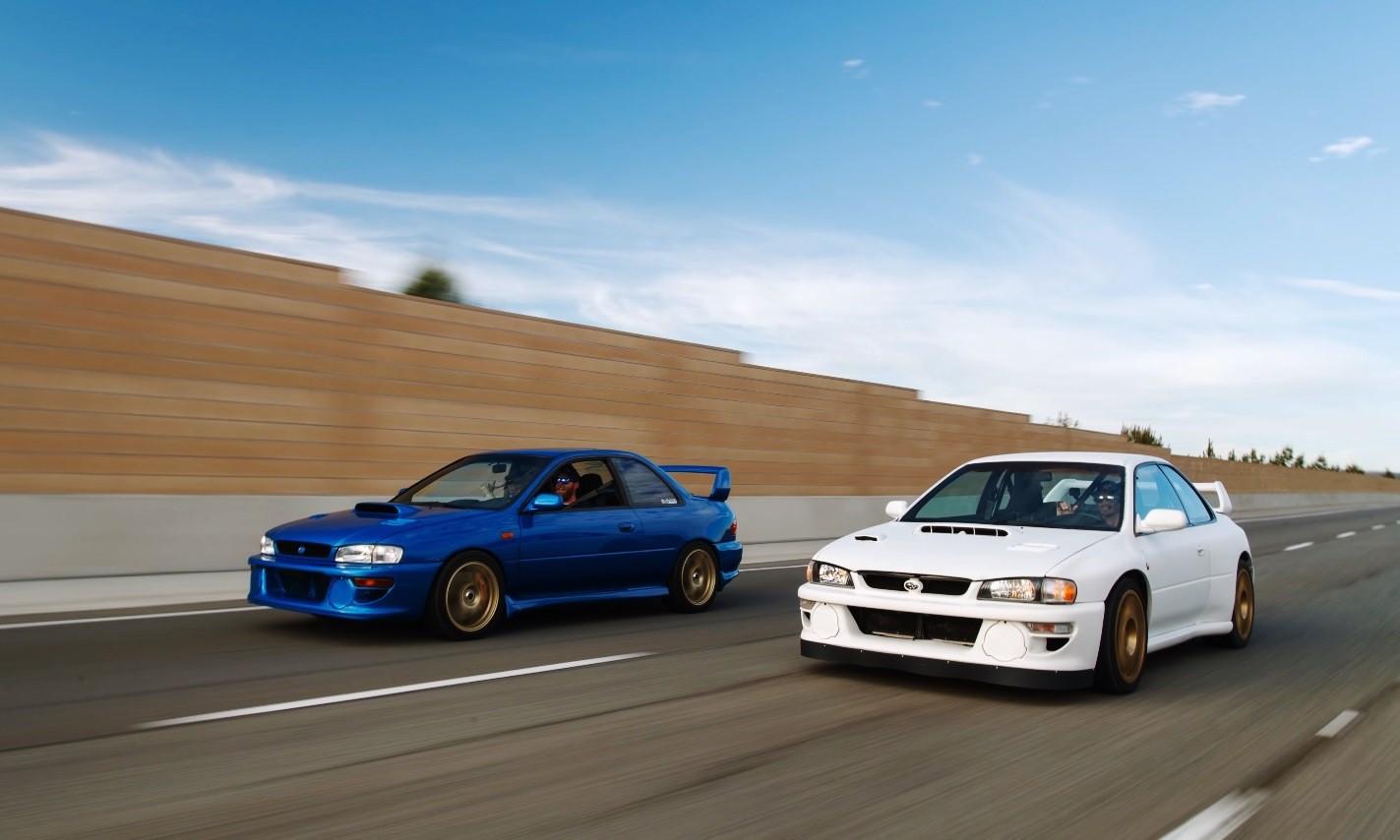 Subaru Impreza 3,6 RS tracking