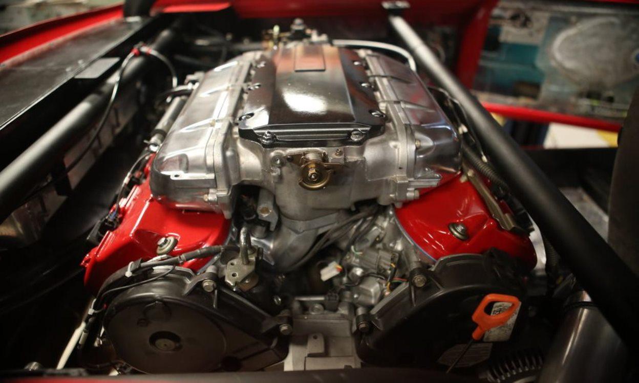 Super Cooper Type S engine