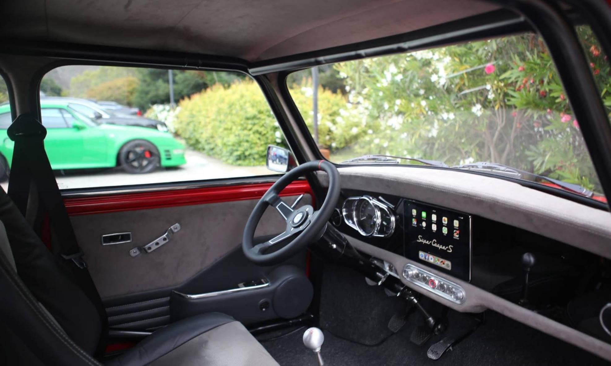 Super Cooper Type S interior