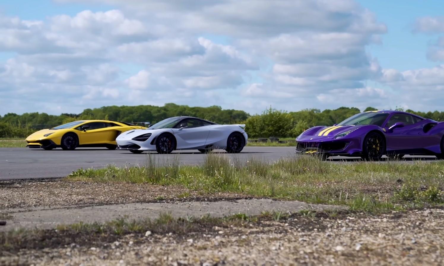 Supercar Drag Race