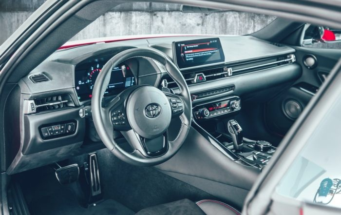 New Toyota Supra interior