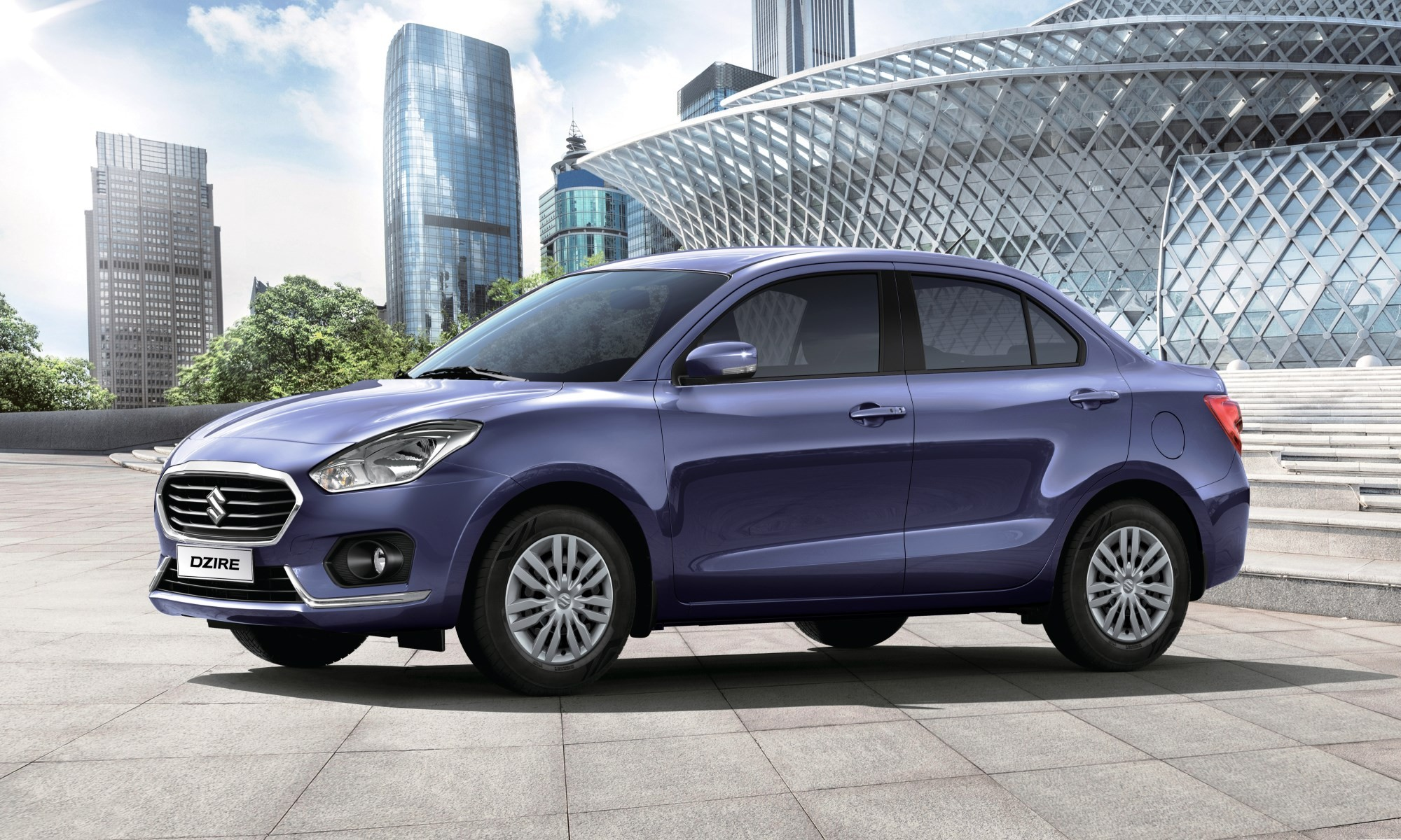 Suzuki Dzire driven