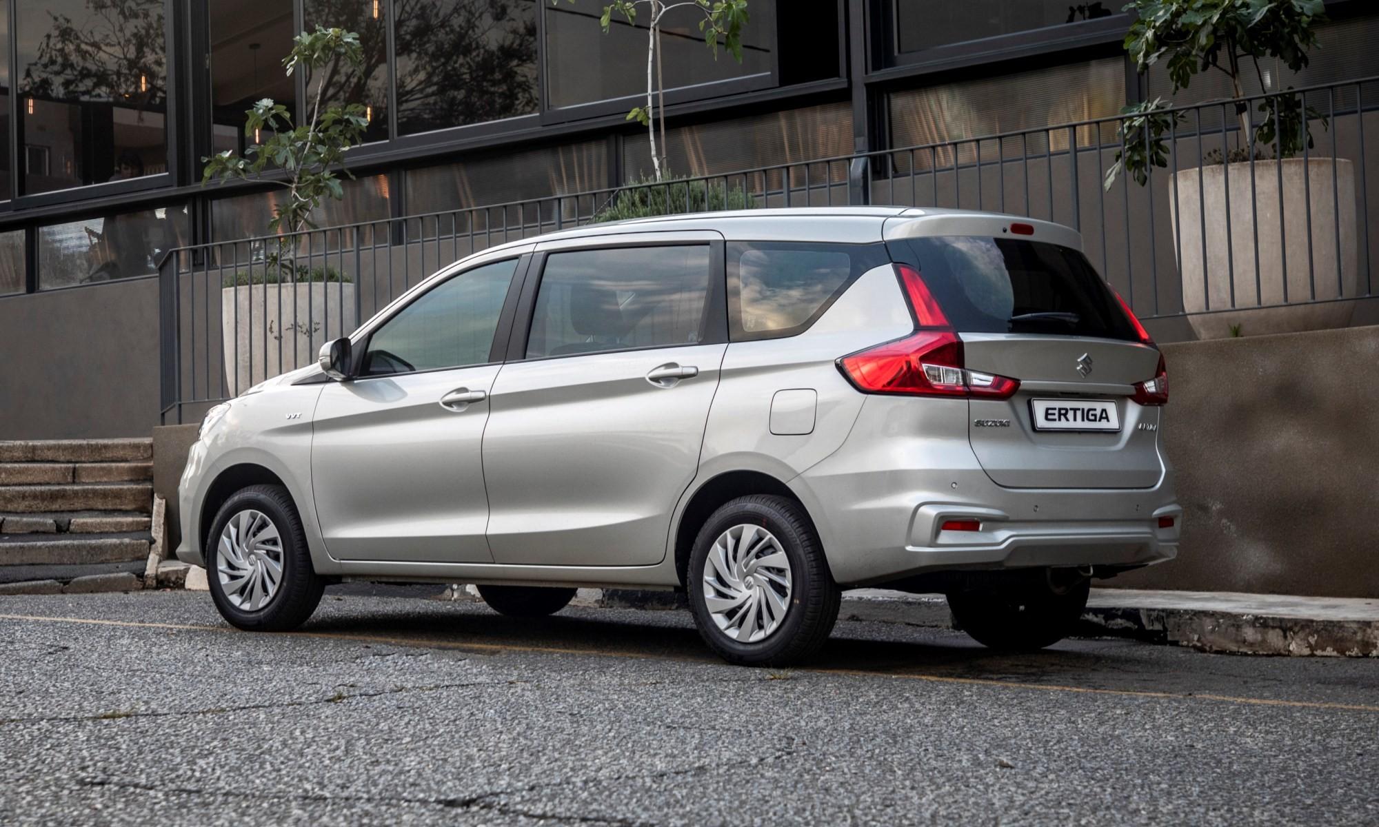 Suzuki Ertiga rear
