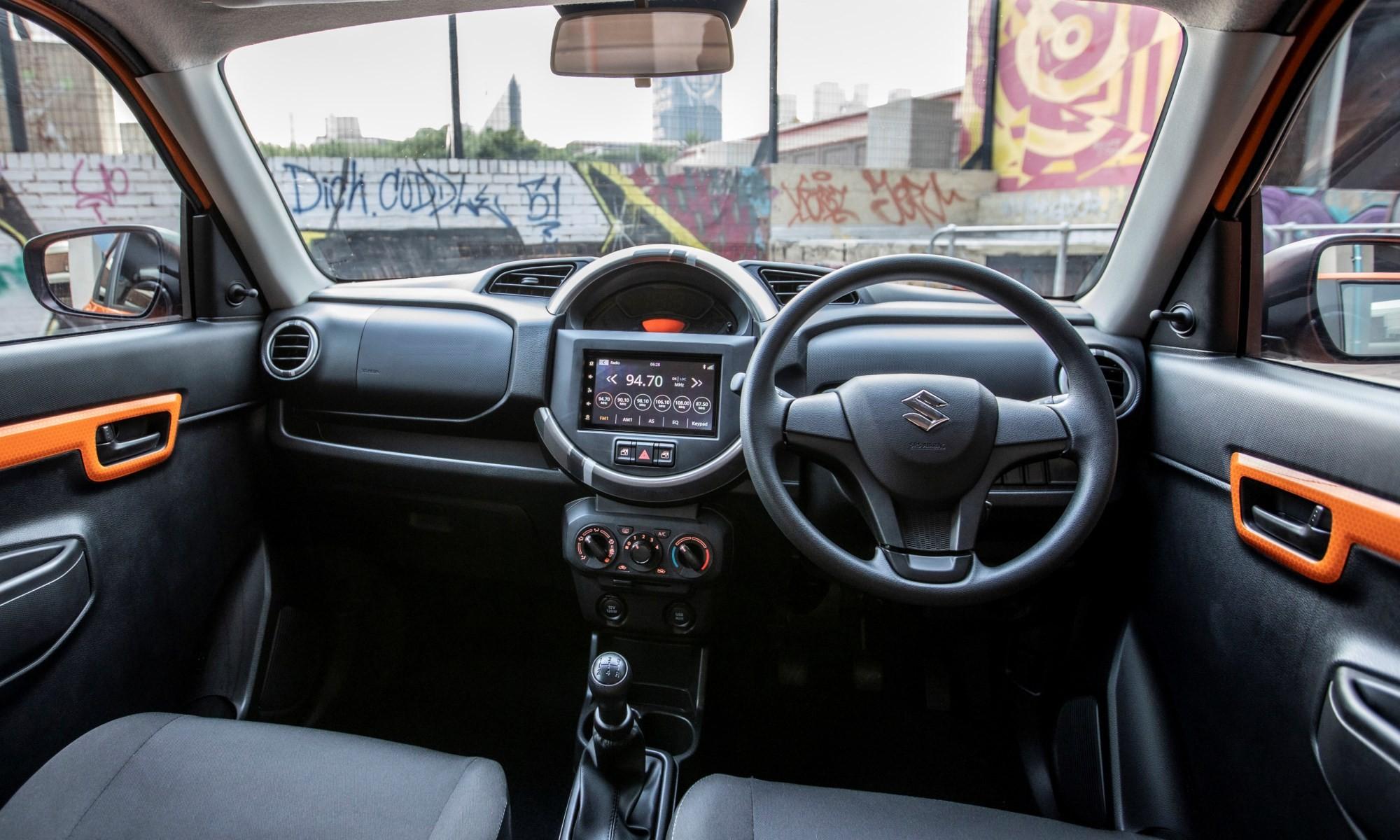 Suzuki S-Presso interior