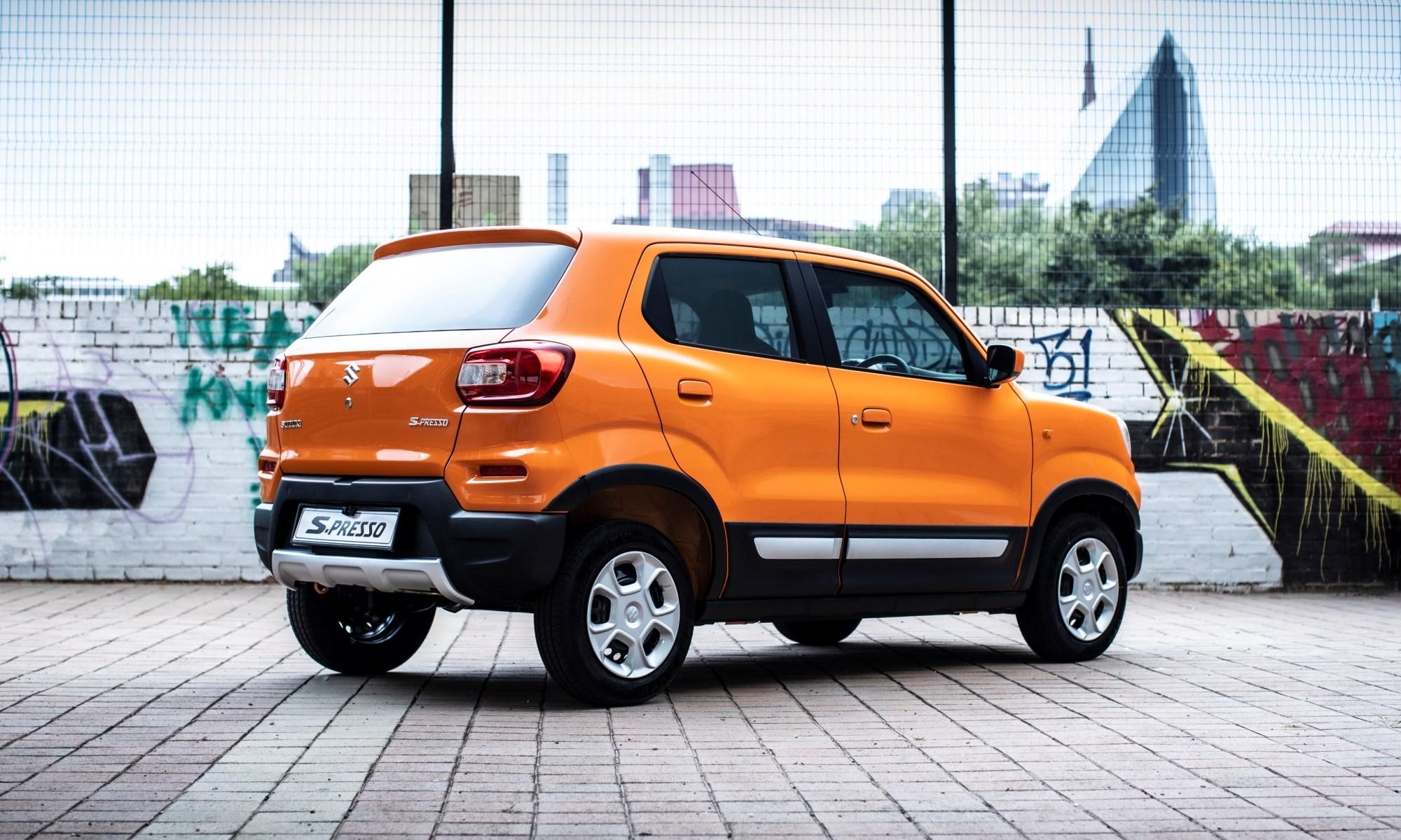 Suzuki S-Presso rear
