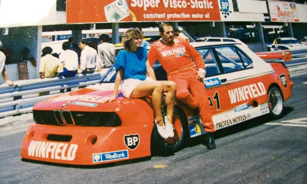 Tony Viana on his BMW M5