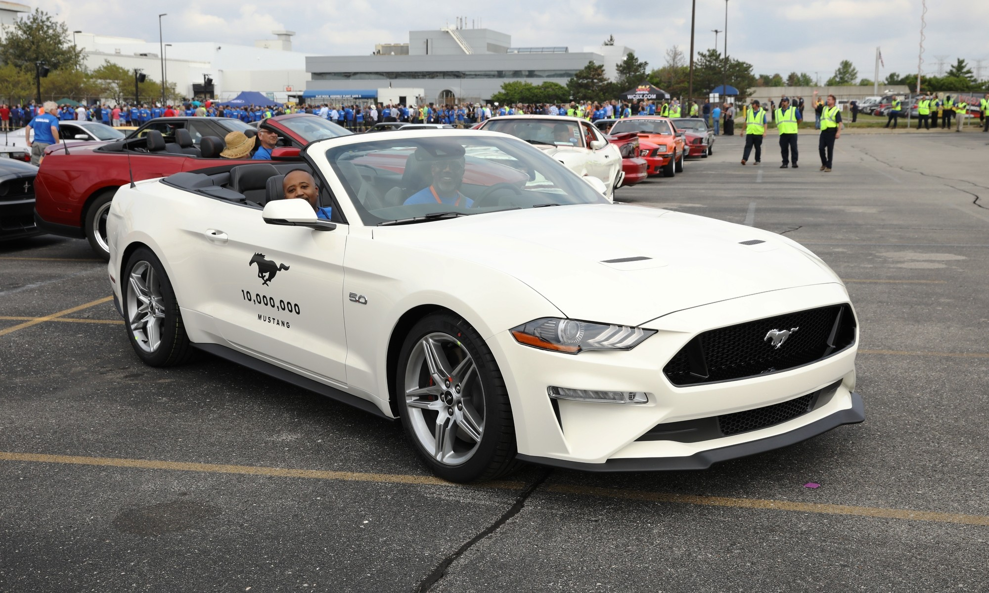 That is the 10 Millionth Ford Mustang