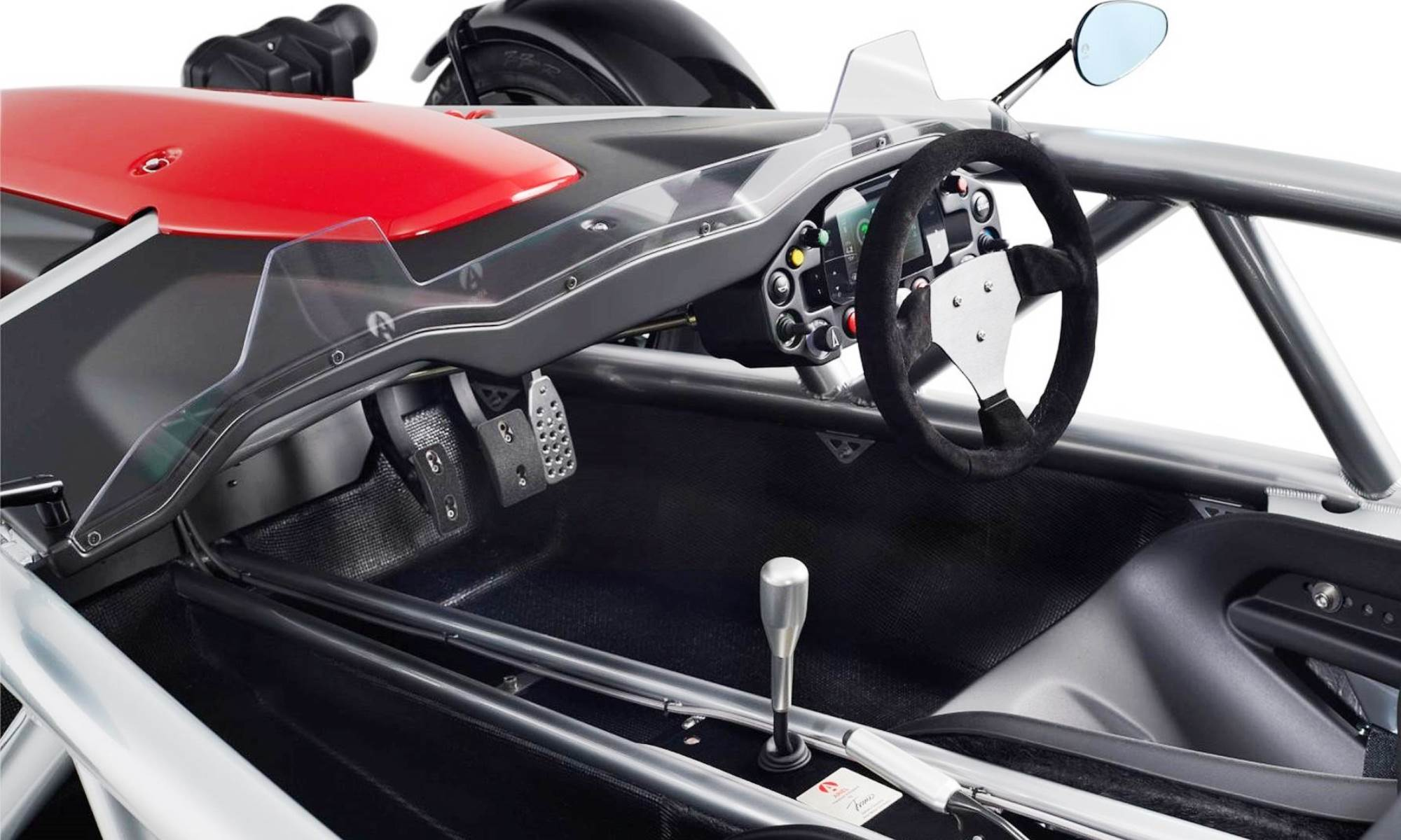 The Ariel Atom interior is sparse by any measure