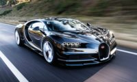The Chiron is much more menacing than the Veyron