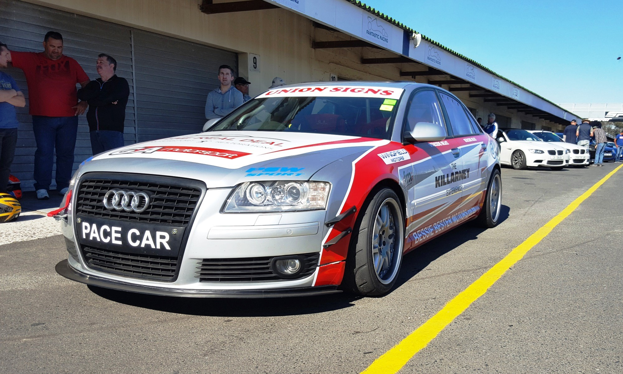 The Killarney Experience Audi Transporter