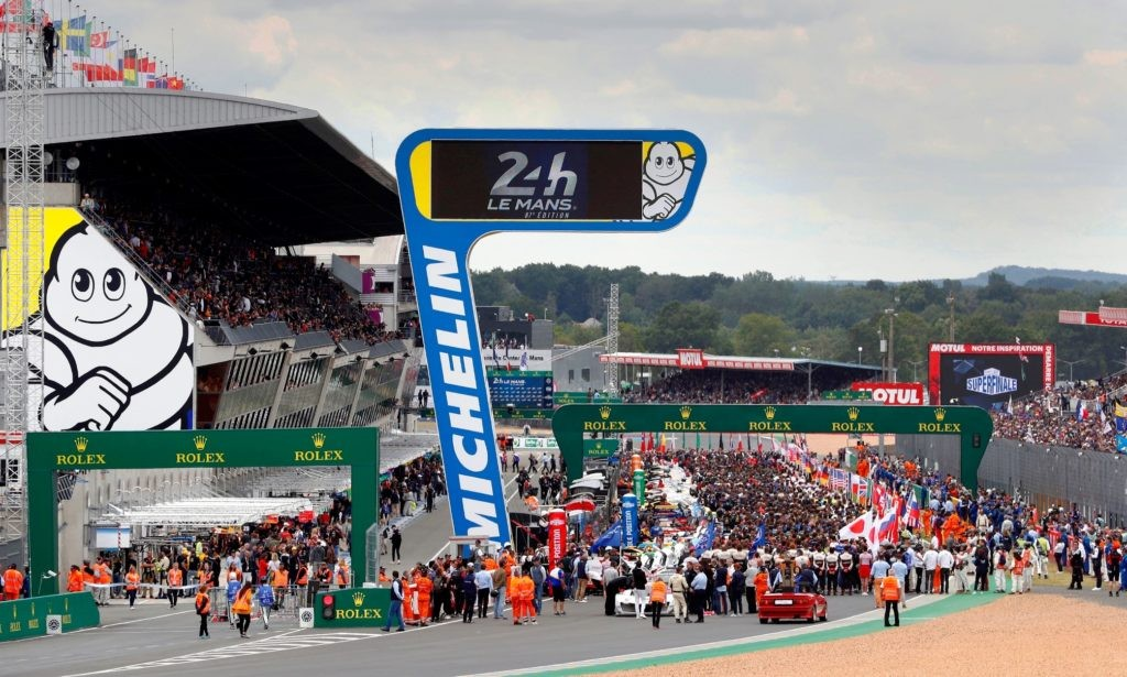 The start of the 2019 Le Mans
