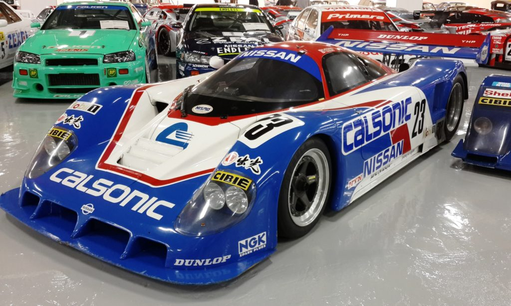 The famous Calsonic livery on Prototype racer