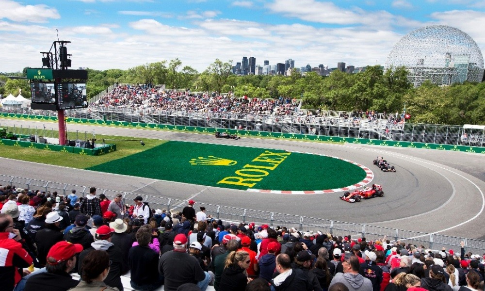 The hairpin provides plenty of overtaking opportunities at the Canadian Grand Prix