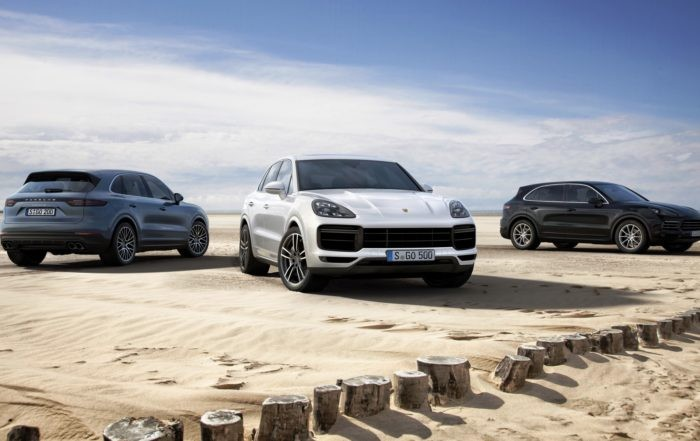 The new Porsche Cayenne family