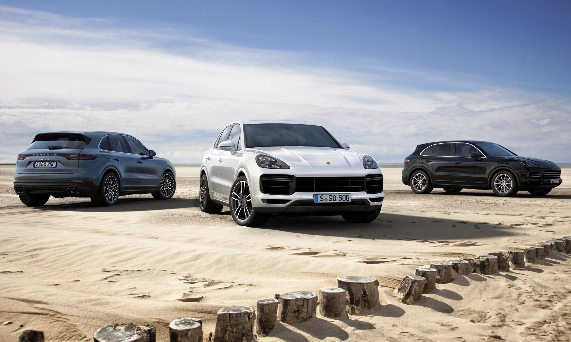 The new Porsche Cayenne family
