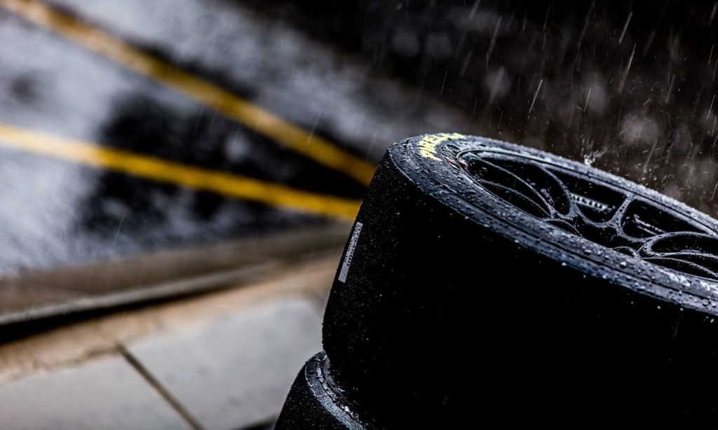 The rain started to fall on Thursday afternoon, and proved to be a sign of things to come (image by David Marchio)