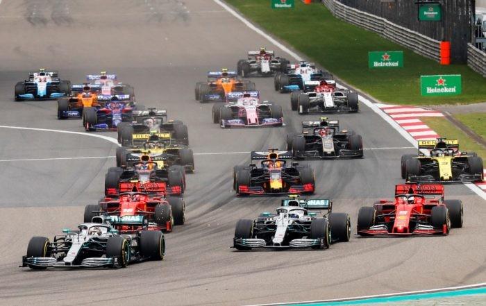 2019 Chinese GP start