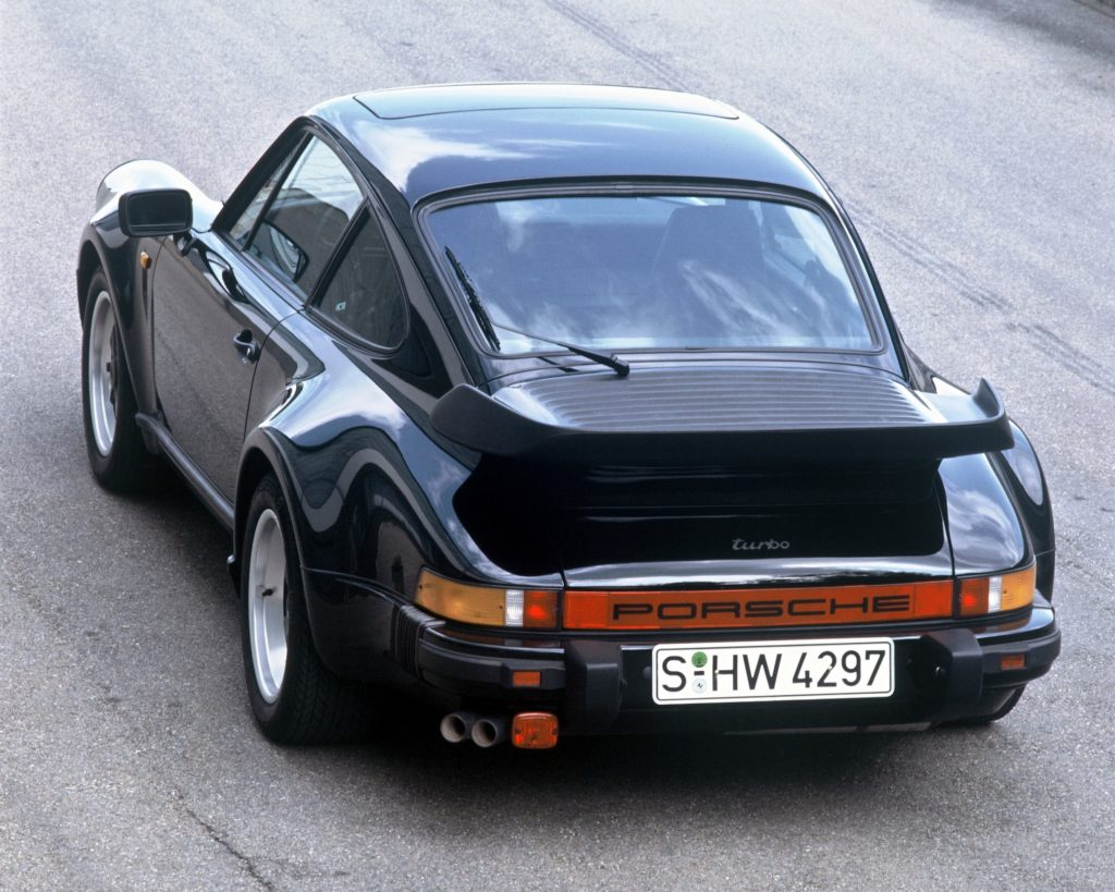The very first 911 Turbo