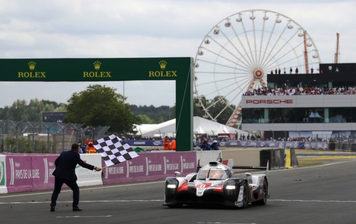 The winning car at the 2019 Le Mans