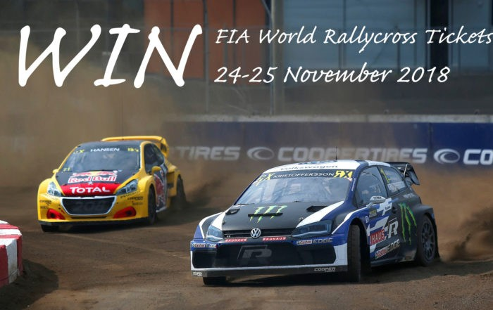 WIN FIA World Rallycross Tickets