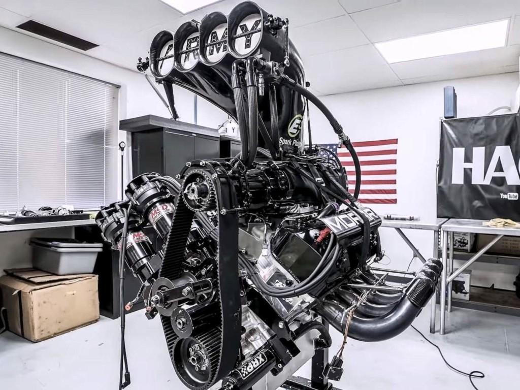 Top Fuel engine