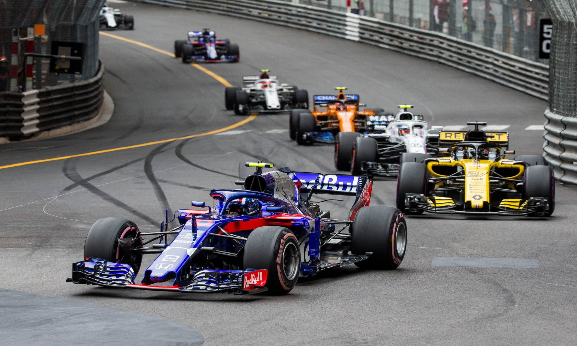 Toro Rosso have made progress with the Honda powerplant in 2018